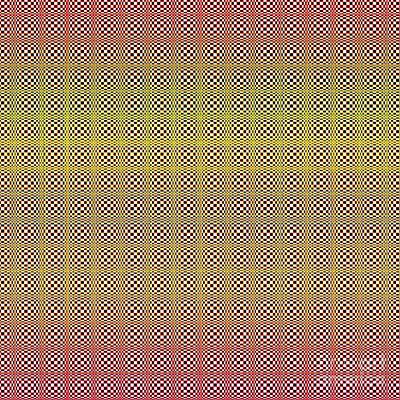 Digital Art - Optical Illusion Colors by Susan Stevenson