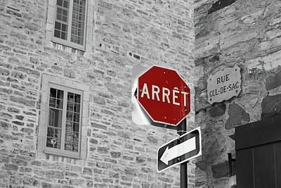 Photograph - Optical Illusion, Quebec City by Brooke T Ryan