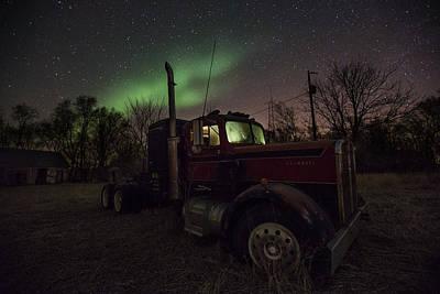 Photograph - Optimus Borealis  by Aaron J Groen