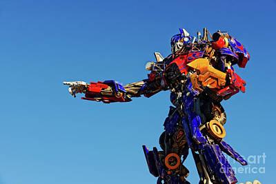 Photograph - Optimus Prime by Paul Mashburn