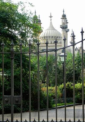 Photograph - Opulence Behind The Gate by Dorothy Berry-Lound