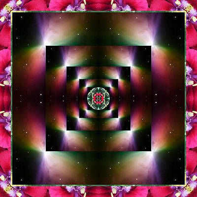 Chakra Rainbow Photograph - Opulence by Bell And Todd