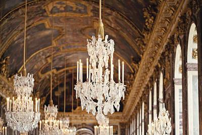 Opulence - Versailles, France Art Print by Melanie Alexandra Price