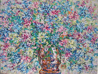 Painting - Opulent Bouquet. by Leonard Holland