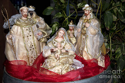 Photograph - Opulent Nativity Scene by Brenda Kean