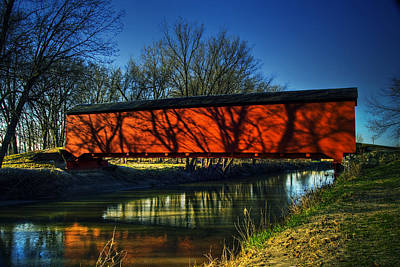 Eames Photograph - Oquawka Wagon Bridge by Roger Passman