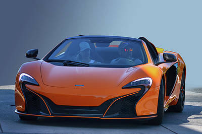Photograph - Or Mclaren by Bill Dutting