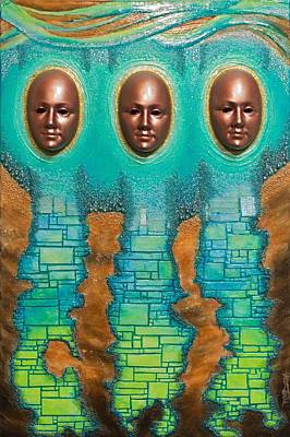 Avant Garde Mixed Media - Oracles Of Atlantis  by Tripp Doogan