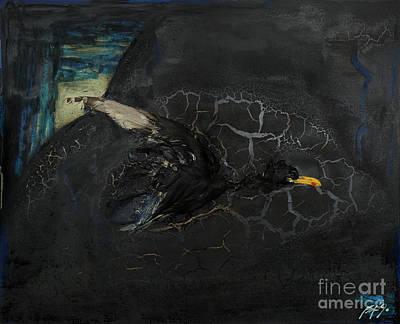 Oracular Inquiry - Ecological Footprint - Drilling Permits - Crude Oil Offshore Energy - Das Orakel Art Print
