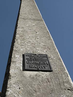 Nazi Mixed Media - Oradour Sur Glane Pylon by Marcus Kett