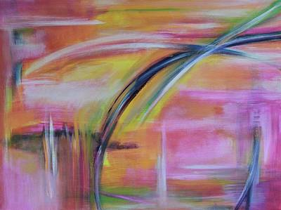 Painting - Pink Blend #1 by Carrie Godwin
