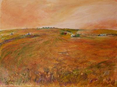 Painting - Orange Afternoon  by Helen Campbell