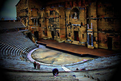 Photograph - Orange Amphitheater by Hugh Smith