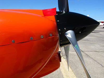Photograph - Orange And Black by Bill Tomsa
