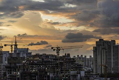 Photograph - Orange And Grey by Rajiv Chopra