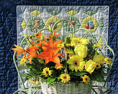Photograph - Orange And Yellow Delights by Nancy Lee Moran