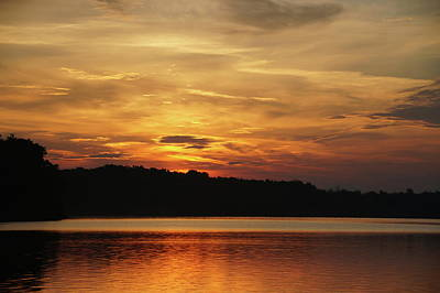 Photograph - Orange And Yellow Sky by Mike murdock