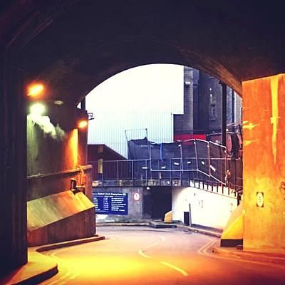 Photograph - Orange Arch by Steve Swindells