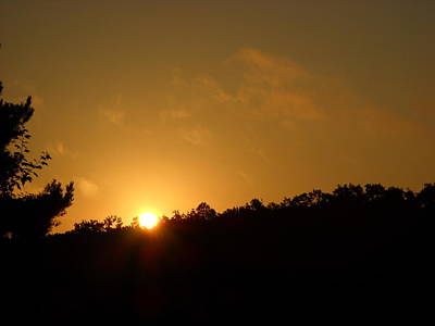 Photograph - Orange August Sky Sunrise by Kent Lorentzen