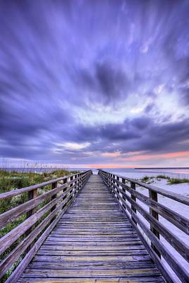 Photograph - Orange Beach Drama by JC Findley