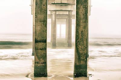 Photograph - Orange Beach Pier Sunrise by John McGraw