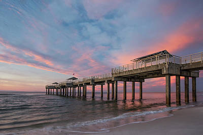 Photograph - Orange Beach Sunrise by Thomas Pettengill