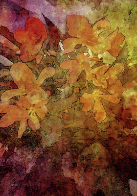 Photograph - Orange Blossom Impression 3118 Idp_2 by Steven Ward