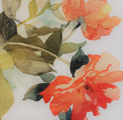 Orange Blossom Special Print by Elizabeth Carr