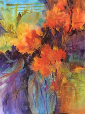 Painting - Orange Bouquet by Karen Ann Patton