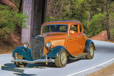 Photograph - Orange Classic  by Bill Posner