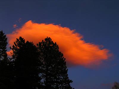 Photograph - Orange Cloud by George Tuffy