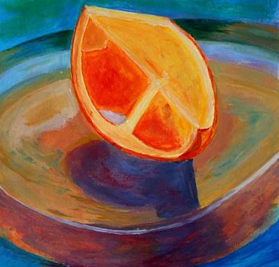 Painting - Orange by Constantinos Charalampopoulos