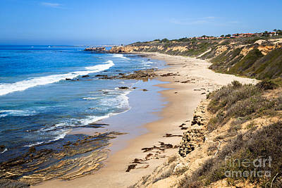 Crystal Cove Photograph - Orange County California by Paul Velgos
