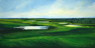 Painting - Orange County Fairway by Michele Hollister - for Nancy Asbell