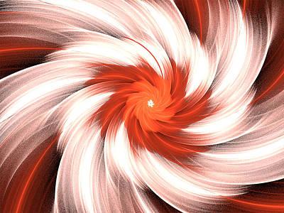 Digital Art - Orange Creme by Barbara A Lane
