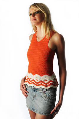 Photograph - Orange Crochet by Robert WK Clark