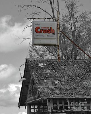Photograph - Orange Crush 2 by Ansel Price