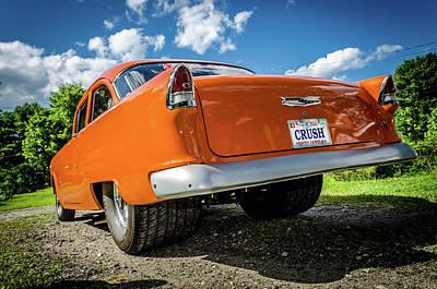 Tri Wall Art - Photograph - Orange Crush by Dan Jordan