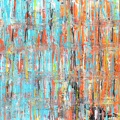 Painting - Orange Crush by Elizabeth Langreiter