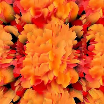 Digital Art - Orange Crush by Gerry Morgan