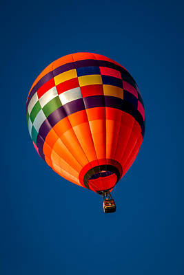 Photograph - Orange Crush - Hot Air Balloon by Ron Pate