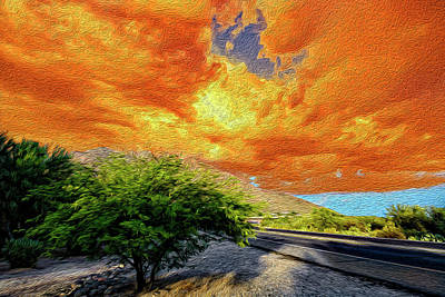 Orange Crush Op8 Original by Mark Myhaver