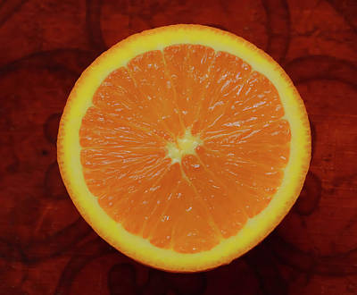 Photograph - Orange by Dan Sproul