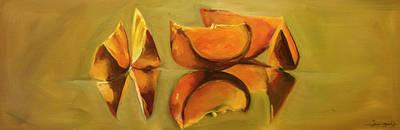 Painting - Orange Dance by Diane Whitehead