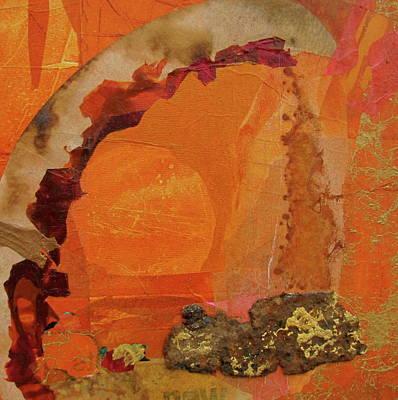 Orange Day Art Print by Carole Johnson