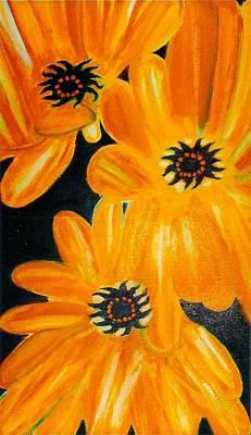 Orange Delight Original by Robert Bray