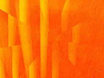 Photograph - Orange Dimension by Dietmar Scherf