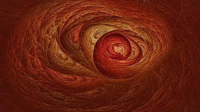 Digital Art - Orange Dreamsaver  by Doug Morgan