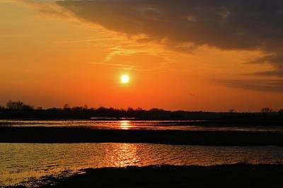 Photograph - Orange Evening by Bonfire Photography