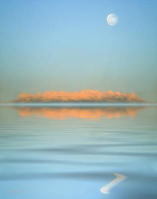Orange Fog Art Print by Jerry McElroy